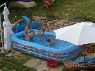 Inauguration de la piscine aur lie et aur lien for Accouchement piscine
